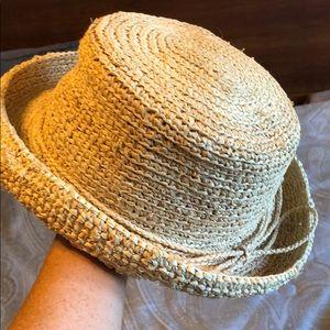 NWOT Scala summer straw sun hat